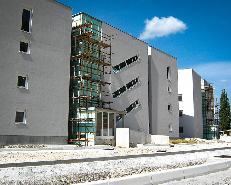 ETICS façade