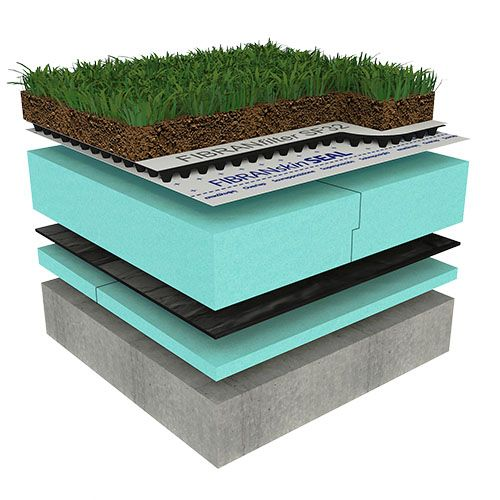 Semi-intensive Green Flat Roof - OPTIMO