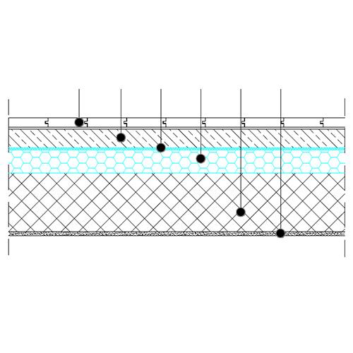 Medetažna konstrukcija - osnovni prerez